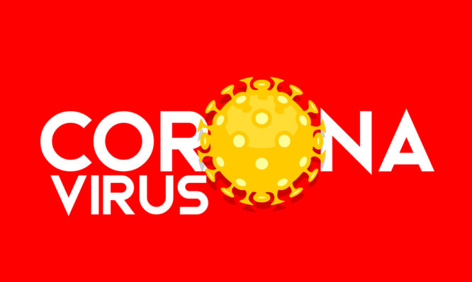 simple wuhan coronavirus outbreak influenza as dangerous flu strain cases as a pandemic concept banner flat style illustration